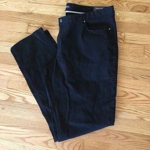 NWT Black Michael Kors Pants Tailored Fit 40/34